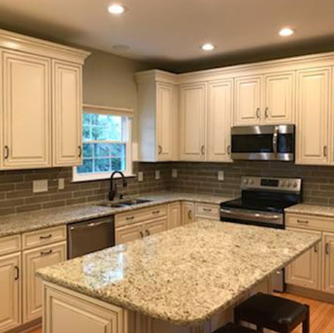 Granite Countertops By Queen City Kitchens In Charlotte Nc