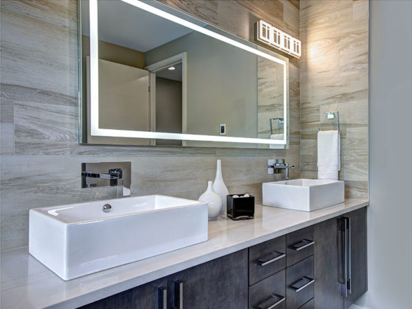 Bathroom Inspiration at Queen City Kitchens