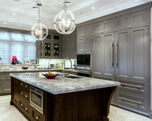 Why Gray Kitchen Cabinets Are So Popular Queen City Kitchen Bath