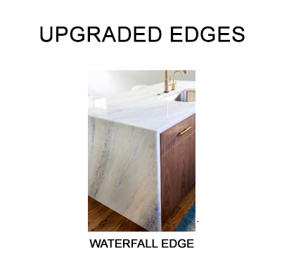 Countertop Profile Edge Upgrade Waterfall Example