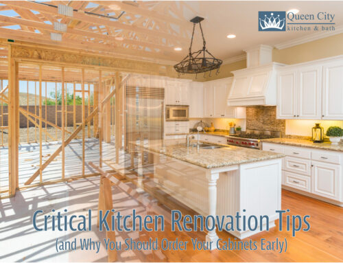 Critical Kitchen Renovation Tips (and Why You Should Order Your Cabinets Early)